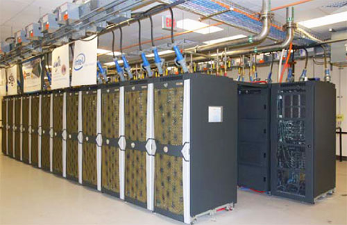 Photo of the Encanto Supercomputer.